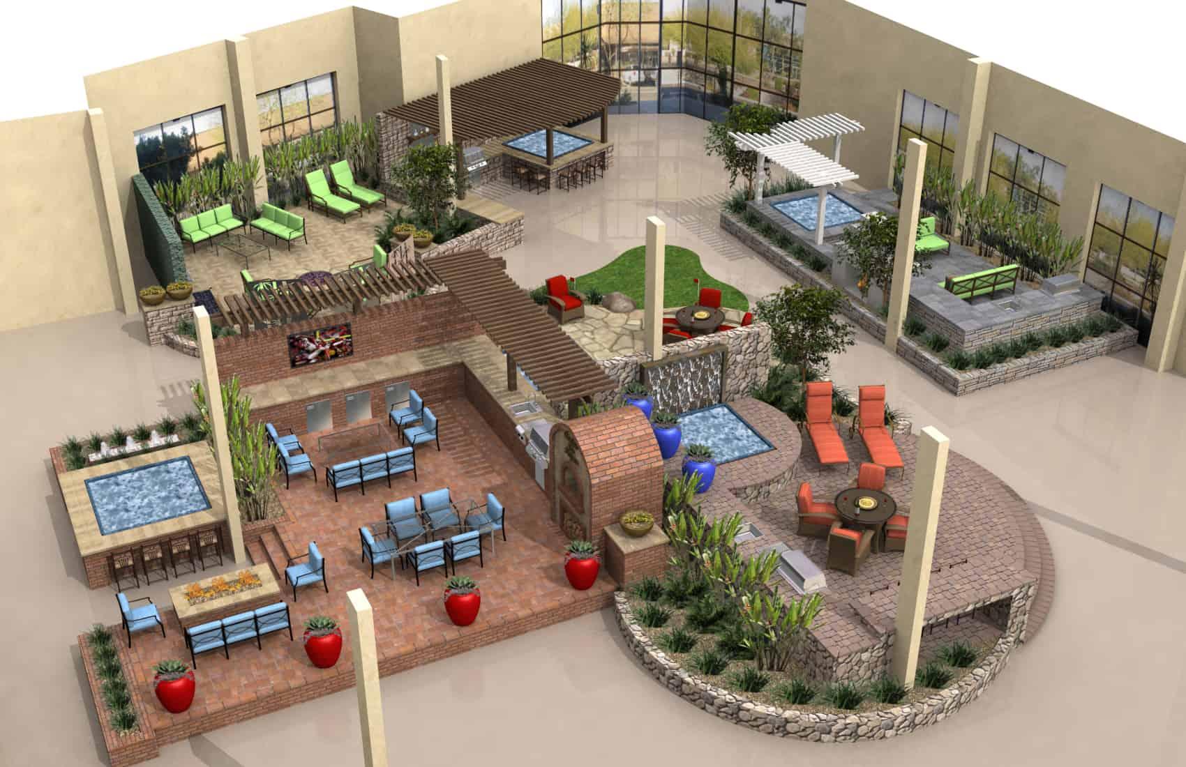 Showroom Construction for Imagine Backyard Living Is Underway! by Imagine Backyard Living