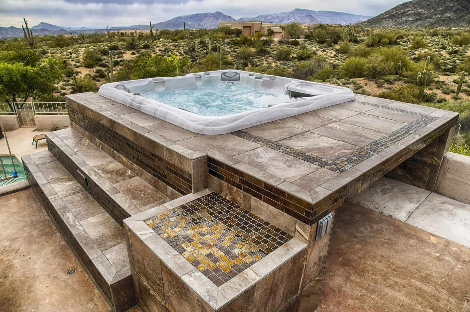 Imagine Backyard Living Hot Tub Spa Jacuzzi Sundance