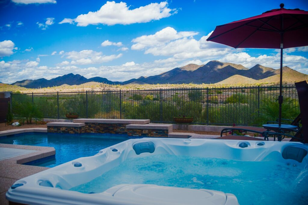 Imagine Backyard Living Hot Tub Spa Jacuzzi Sundance (57)