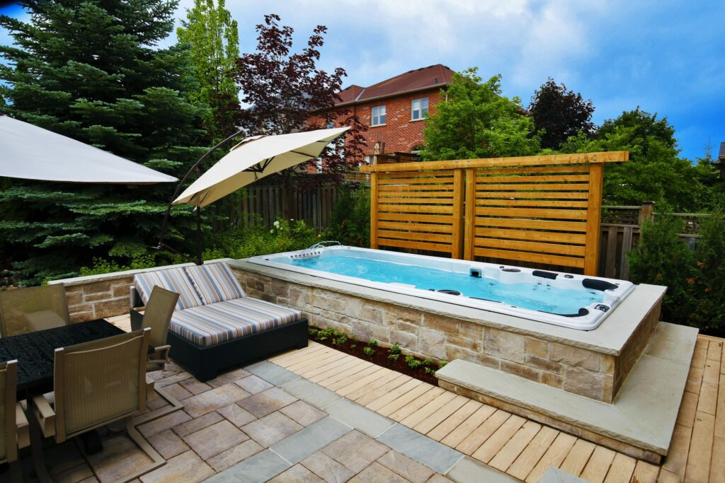 All about hydropool swim spas imagine backyard living - Endless pools swim spa owner s manual ...