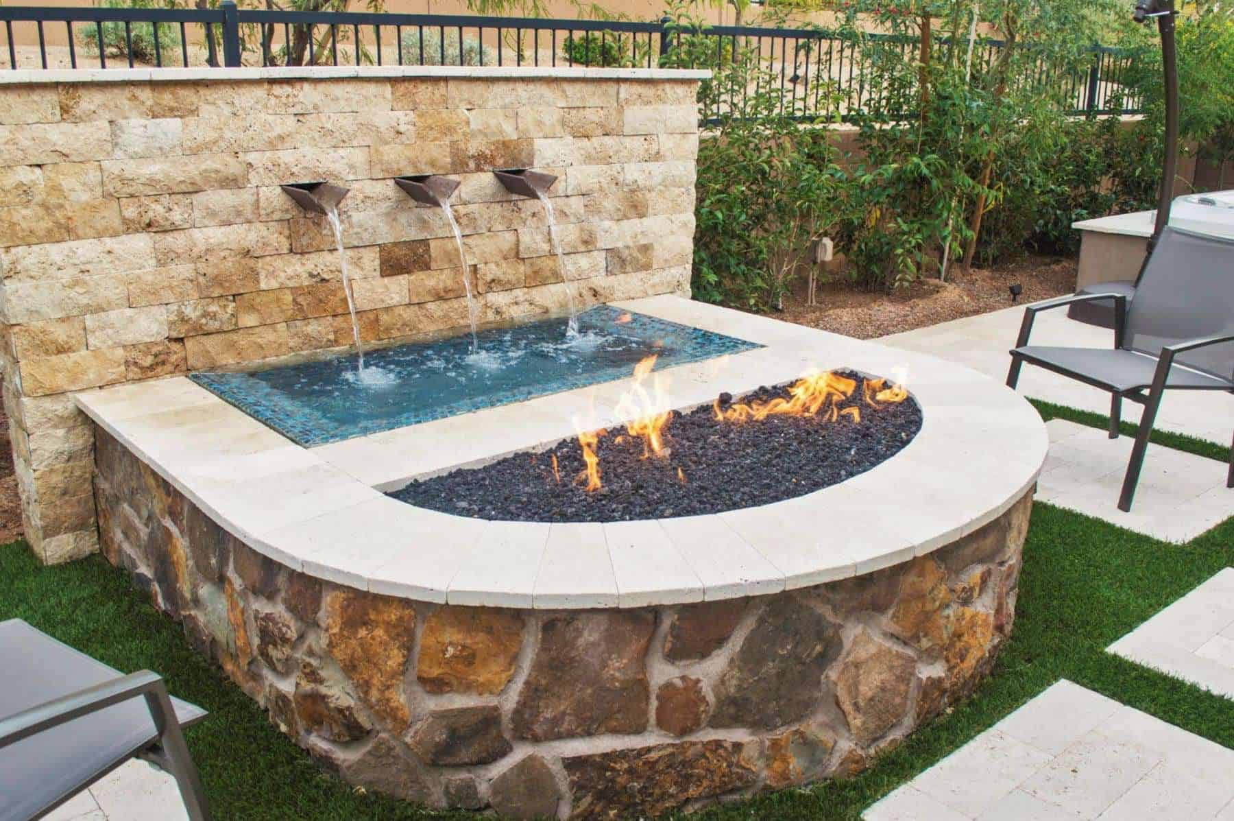 Imagine Backyard Living installation