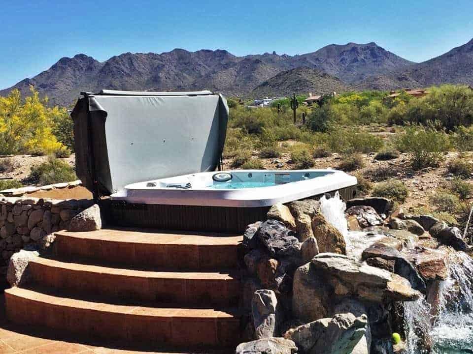 Imagine Backyard Living Hot Tub